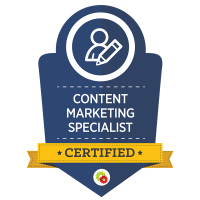 Certified Content Marketing Specialists